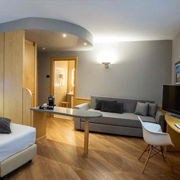 camere e suites di lusso