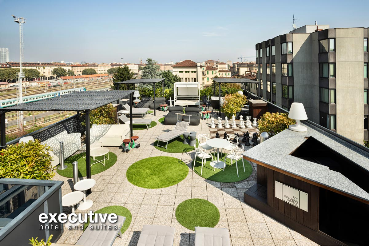 Executive Hotel and Suites - Roof Top